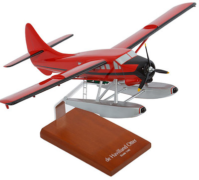 De Havilland Otter with Floats Model Airplane
