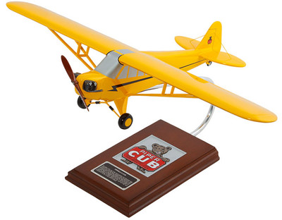 Piper J-3 Cub 1/20 Model Airplane