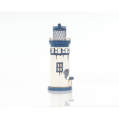 Vintage Metal Lighthouse