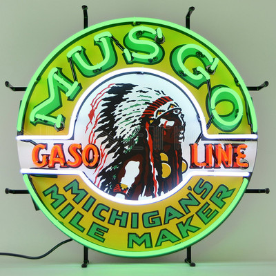 Neonetics Musgo Gasoline Neon Sign