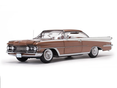 1959 Oldsmobile 98 Hard Top Bronze Mist/Polaris White