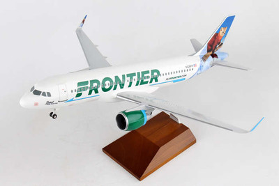 Frontier Airlines A320 Scout The Pine Marten SKR8345