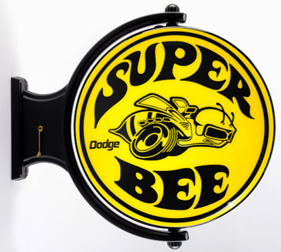 Super Bee Automotive Revolving Lighted Sign