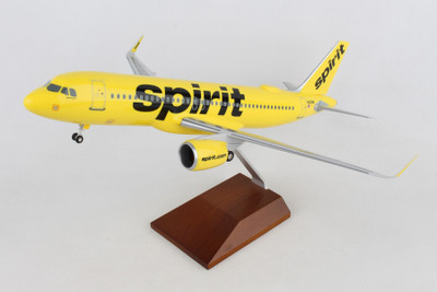 Spirit Airlines Airbus A320 Neo with WiFi Dome