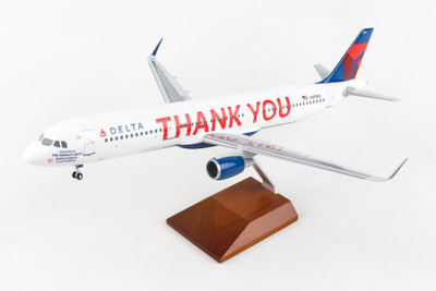 Delta Air Lines Airbus A321 Thank You Livery