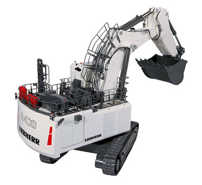 Liebherr R9400 Mining Excavator with Backhoe