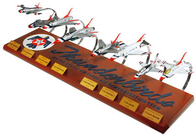 Thunderbirds Airplane Model Collection