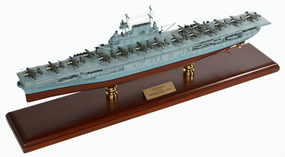 USS Hornet CV-8 Doolittle Ship Model