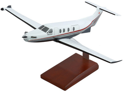 Pilatus PC-12 Pinnacle Model Airplane