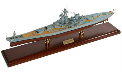 USS New Jersey BB-62 Battleship Model