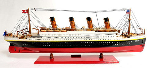 Titanic Small Version Ocean Liner Painted