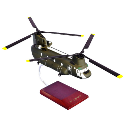 CH-47D Chinook Helicopter Model