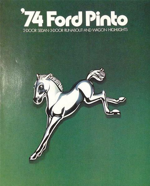 Ford 1974 Ford Pinto 11-Page Color Car Brochure