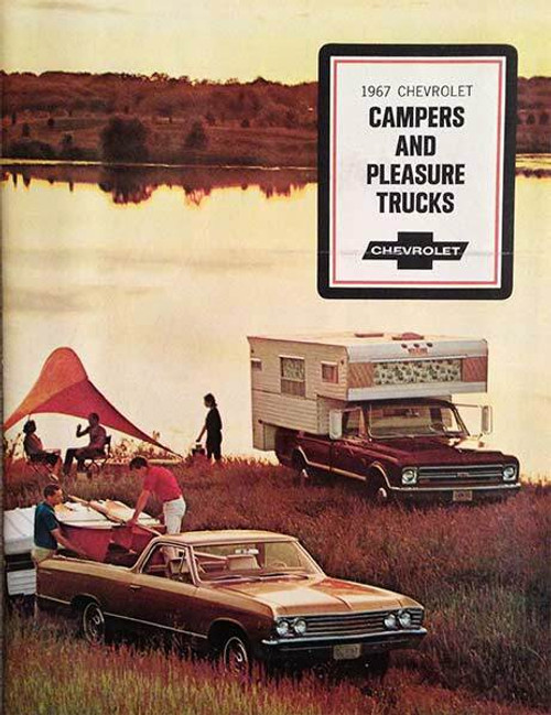 Chevrolet 1967 Chevrolet Campers and Pleasure Trucks 15-Page Brochure