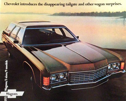 Chevrolet 1971 Chevrolet Wagons 15-Page Color Brochure