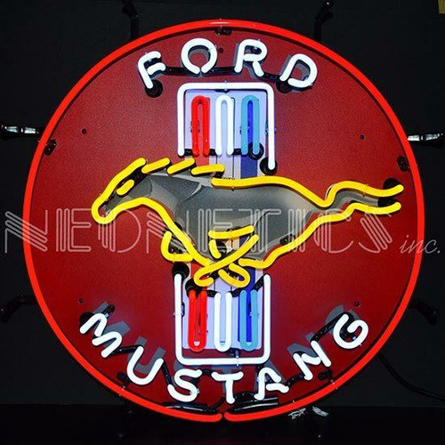 Neonetics Neonetics Ford Mustang Red Neon Sign