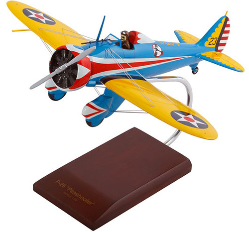 P-26A Peashooter US Army Model Airplane