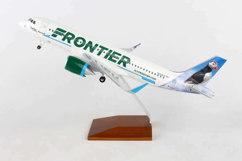 Skymarks Frontier Airlines A320 Captain The Puffin