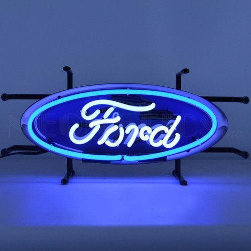 Neonetics Ford Oval Junior Neon Sign