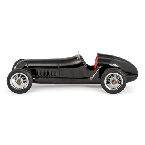 Authentic Models Silberpfeil Race Car Black with Red Seat PC014B
