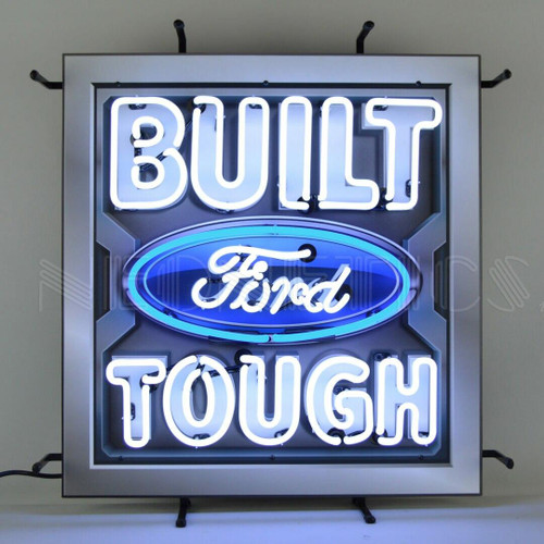 Neonetics Ford Built Ford Tough Neon Sign