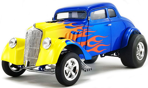 1933 Gasser in Blue with Flames