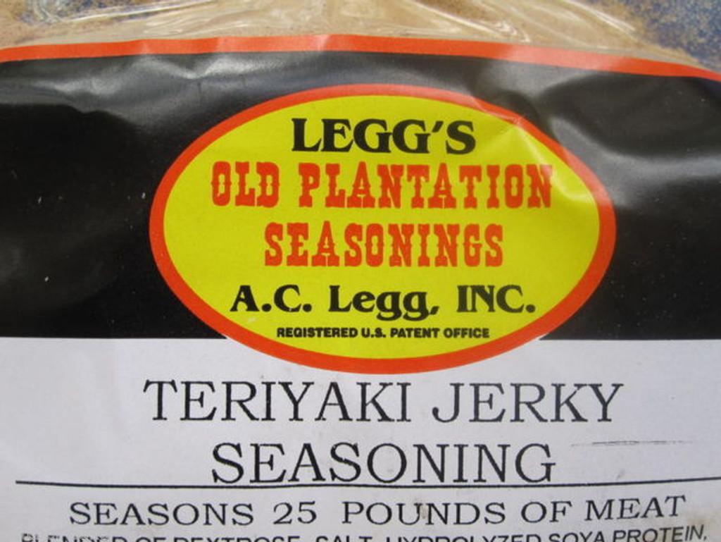 TERIYAKI Jerky Seasoning Spices for 100 LBS of meat Venison Elk Beef Deer Moose