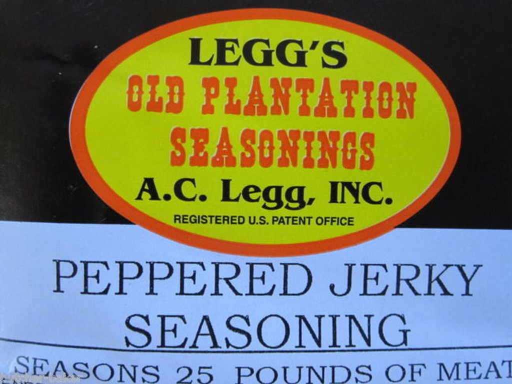 PEPPERED Jerky Seasoning Spices for 50 LBS of meat Venison Elk Beef Deer Moose
