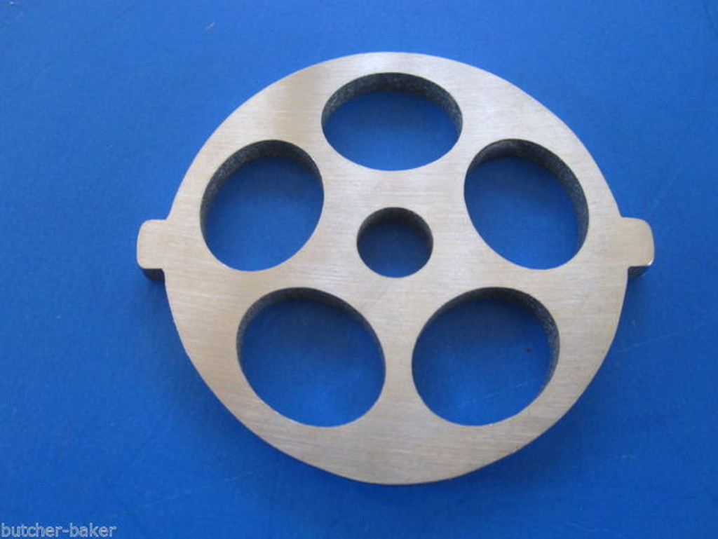 "Meat Grinder plate disc for new FGA KitchenAid Mixer Food Chopper 5/8"" holes"