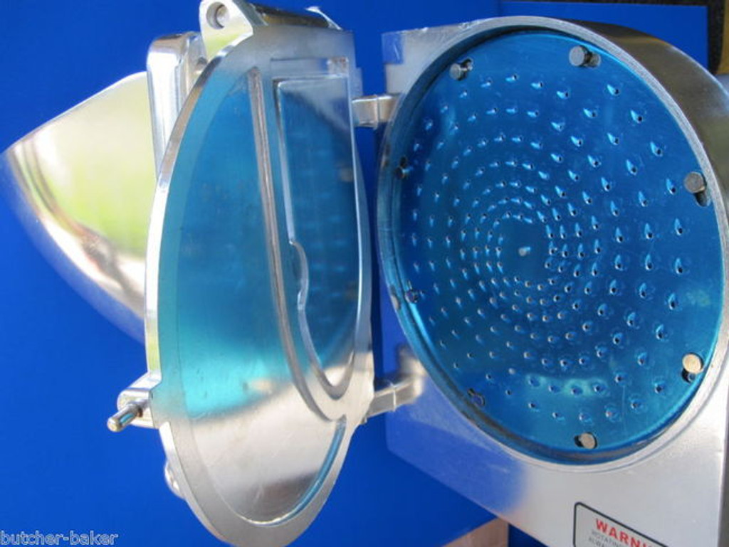 "5/16"" Cheese Vegetable Grater Shredder Discs for Hobart Pelican Head Chopper etc"