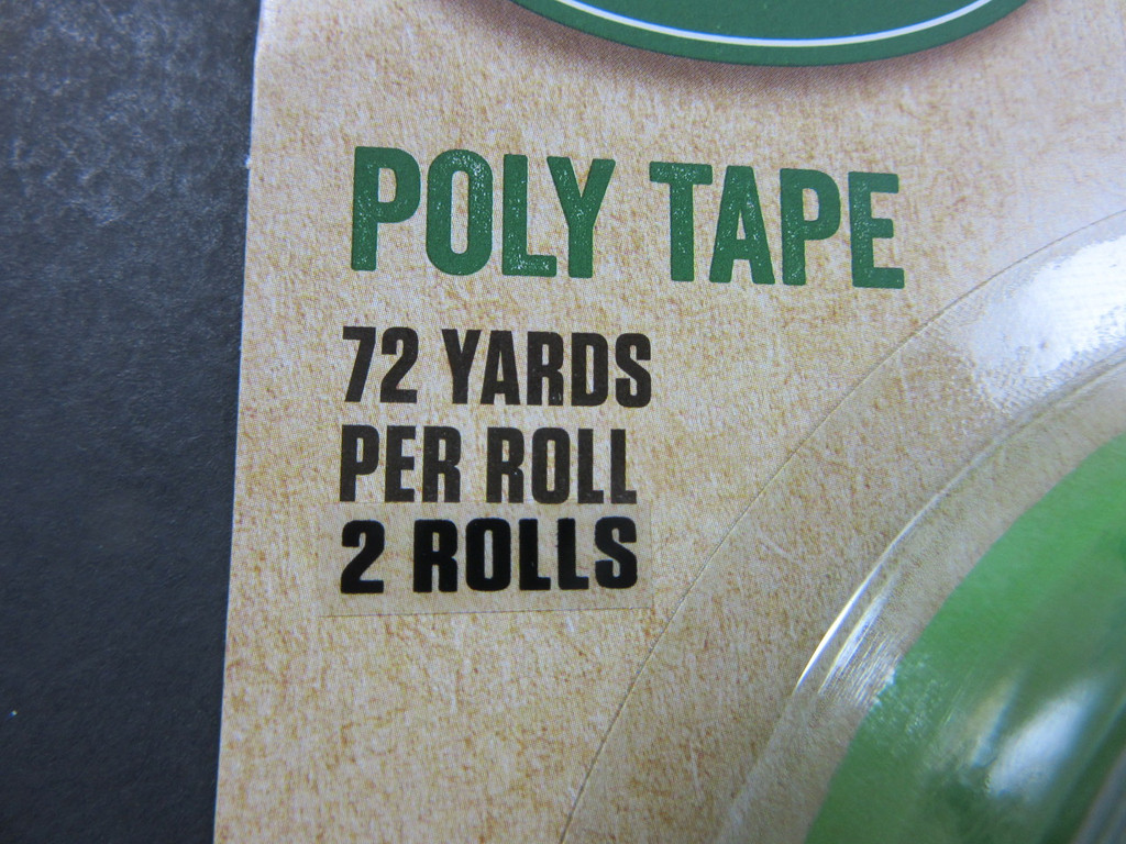4 ROLLS Meat Bag Tape for freezer bag sealers.  Enough for 4500 bags