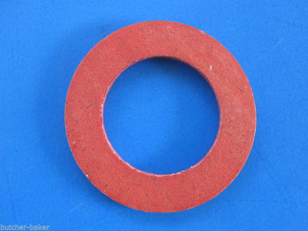 "(3)  #12 Meat Grinder Chopper Worm Auger Fiber Fibre Washer for Hobart 1/2"" sq"