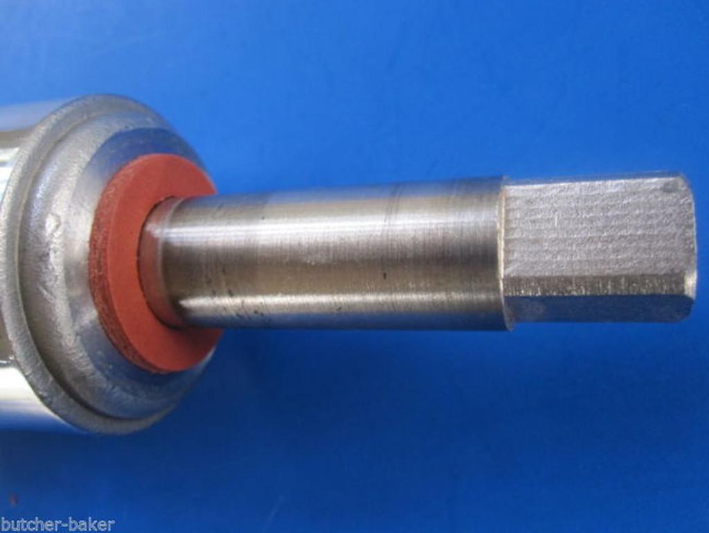 """(3)  #12 Meat Grinder Chopper Worm Auger Fiber Fibre Washer for Hobart 1/2"""" sq"""