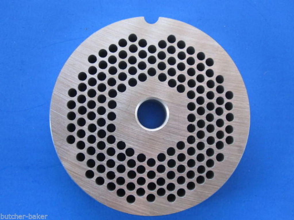 """#8 x 1/8"""" fine hole size meat grinder chopper plate disc for electric or manual"""