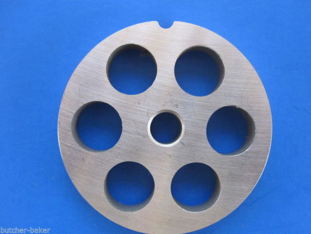 "#5 x 1/2"" Plate Discs PLUS 1 knife for Meat Grinder Grinding STAINLESS STEEL"