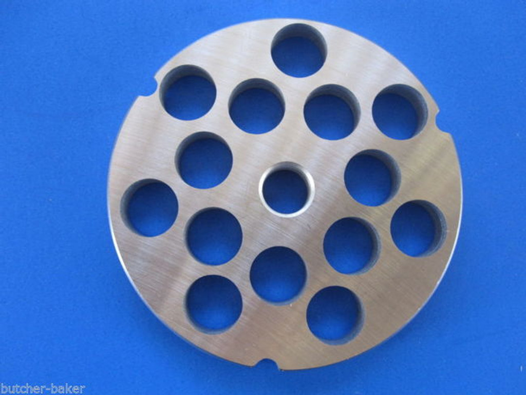 "#32 5/8"" (16mm) STAINLESS Meat Grinder Plate Screen for Hobart 4332 4532 LEM etc"