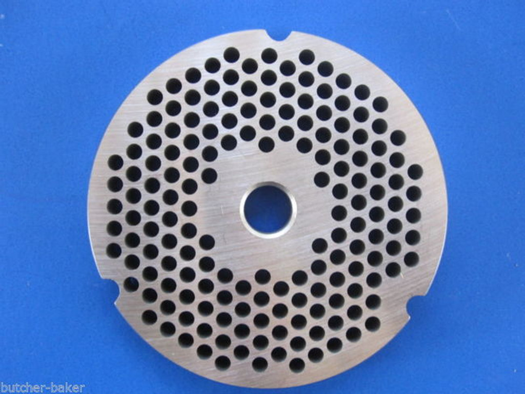 "#32 3/16"" (4.5mm) STAINLESS Meat Grinder Plate for Hobart 4332 4532 TorRey etc Replacement Part 00-108581-00002"