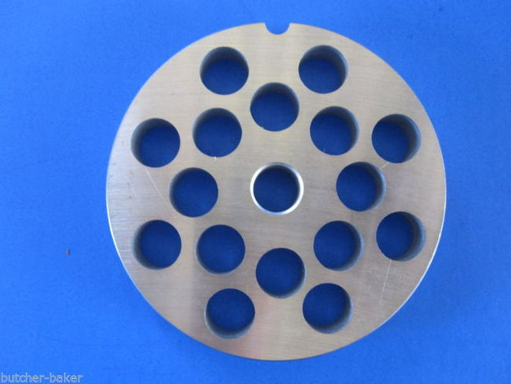 "#22 x 1/2"" hole STAINLESS Meat Grinding Grinder Plate disc & Cutter Knife"