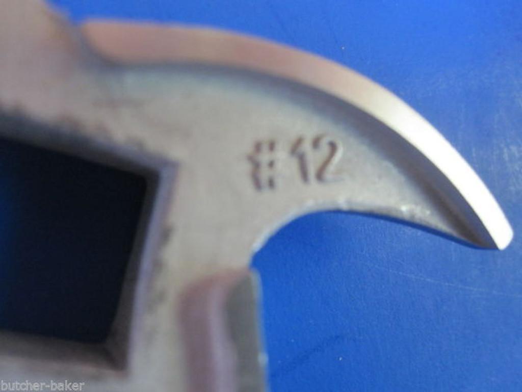 "#12 x 3/4"" PLATE & Meat Grinder SUPER SWIRL KNIFE BLADE"