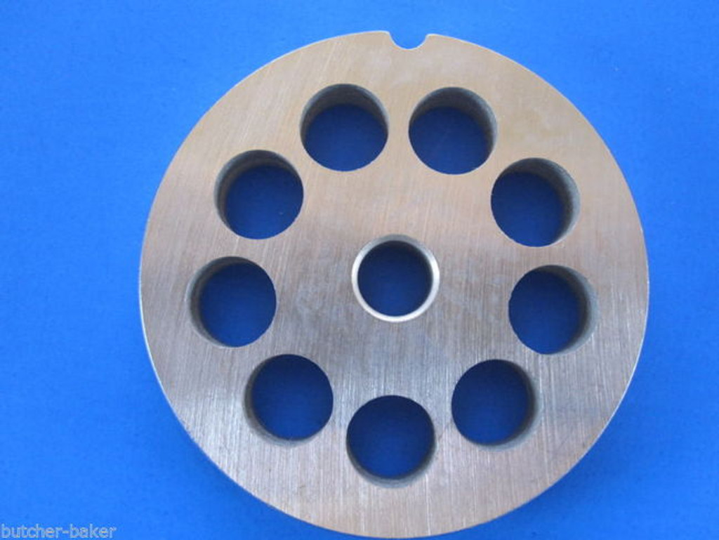 """#12 x 1/2"""" holes STAINLESS Meat Food Grinder Mincer Chopper plate disc screen Hobart 00-016427-00002"""