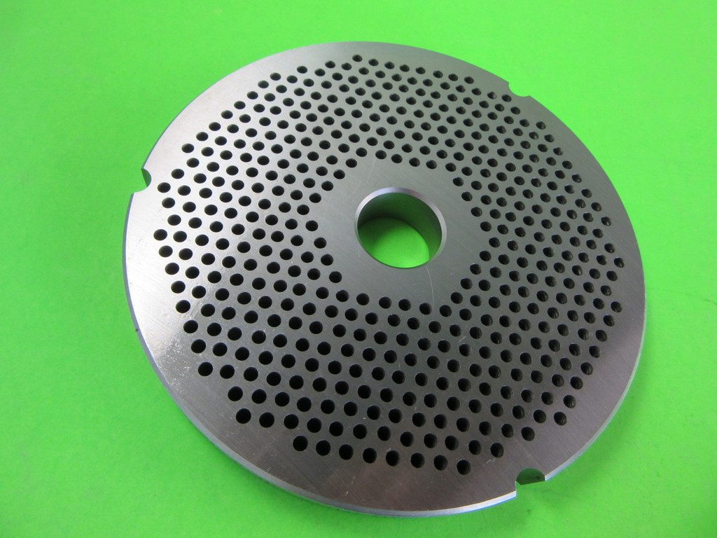 """Size #42  x  1/8 """" AND KNIFE Meat Grinder Disc Plate for Cabelas, Hobart, Weston etc"""