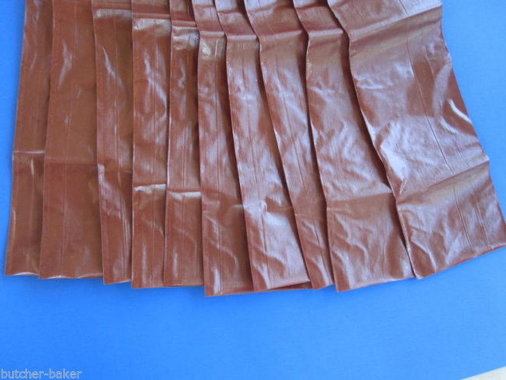 Processor Quantity 1000 x 1 lb FRESH Homemade SUMMER SAUSAGE Fibrous CASINGS Stuffing Skins