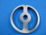 Sausage stuffing plate for Chefs Choice Meat Grinder that fits Kitchenaid mixer