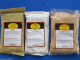 JERKY Seasoning Spice VARIETY Original, Peppered and Teriyaki w/ CURE for 75 LBs