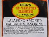 JALAPENO SMOKED LINKS Sausage Seasoning 25 lb w/Cure