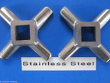 *TWO*  #12 PREMIUM Meat Grinder Chopper Knife Blade made of Stainless Steel