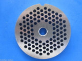"""#22 x 3/16"""" holes STAINLESS Meat Food Grinder Plate Disc Hobart TorRey LEM etc replaces Hobart 00-016431-00002"""