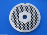 """#22 x 1/8"""" holes STAINLESS Meat Food Grinder Plate Disc Hobart TorRey LEM etc replaces Hobart 00-016430-00002"""