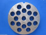"""#22 x 1/2"""" holes STAINLESS Meat Food Grinder Plate Disc Hobart TorRey LEM etc replaces Hobart 00-016434-00002"""