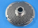 """#52 x 3/16"""" stainless steel meat grinder plate"""